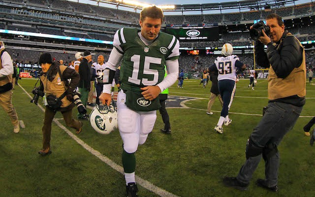 Mike Tannenbaum says bringing Tim Tebow to New York was a mistake. (USATSI)