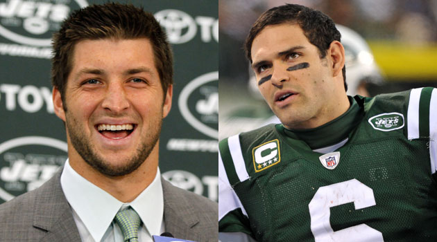 Really? Sanchez Says He's 'Thrilled to Work With' Tebow