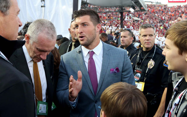 Tim Tebow hasn't given up the idea of a comeback.