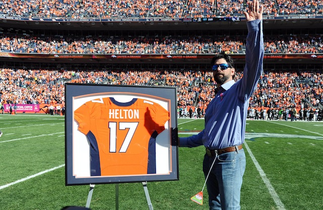 Todd Helton is a friend of Peyton Manning's and he didn't like what Jim Irsay said about his friend. (USATSI)