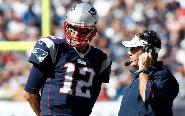 Tom Brady and Bill Belichick almost went a slightly less successful route. (USATSI)