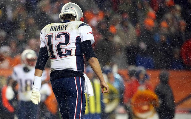 Tom Brady hasn't had much luck when he plays in Denver. (USATSI)