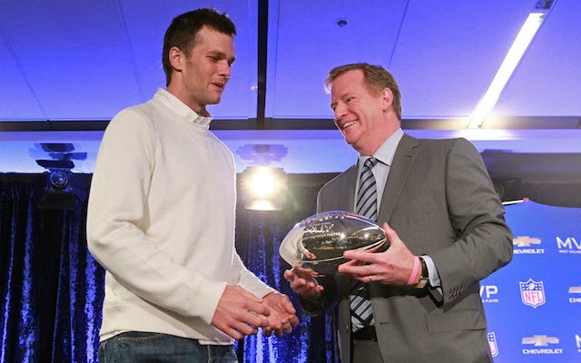 Tom Brady's appeal will be heard -- surprise, surprise -- by Roger Goodell. (USATSI)