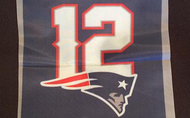 LOOK: Pats were going to raise this banner if Tom Brady was suspended