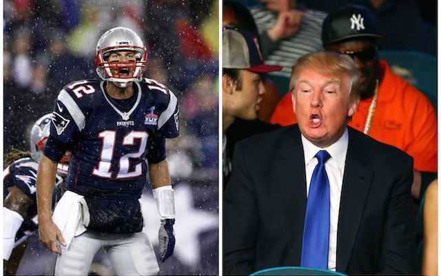 9ffa3cbe Tom Brady on a Donald Trump presidency: 'That would be great ...