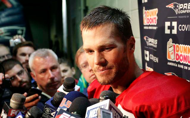 There might be some jealous wives in New England after Tom Brady's comments. (USATSI)