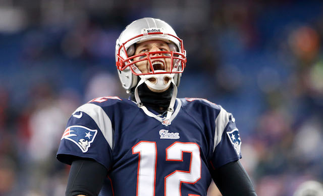 Patriots fans don't seem to be as excited about Saturday's game as Tom Brady is. (USATSI)