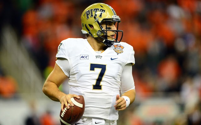 Former Pitt quarterback Tom Savage is under contract in Houston. (USATSI)