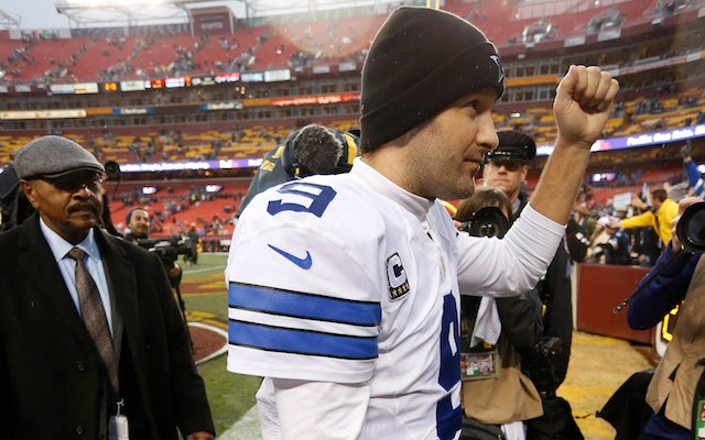 Tony Romo and the Cowboys have a date with Detroit. (USATSI)