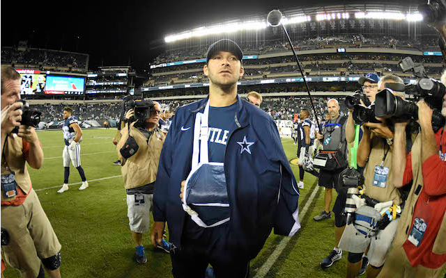 Tony Romo could be sidelined for another 6-8 weeks if he has surgery. (USATSI)