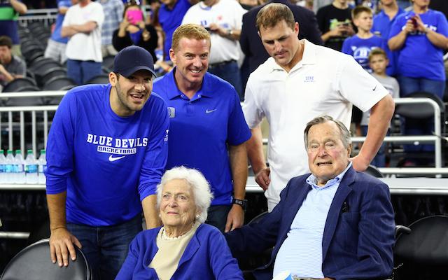 Tony Romo Watches Duke Clinch Final Four No Longer Jinx For