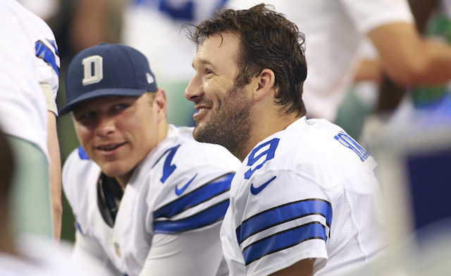 Tony Romo went Full Romo Saturday.