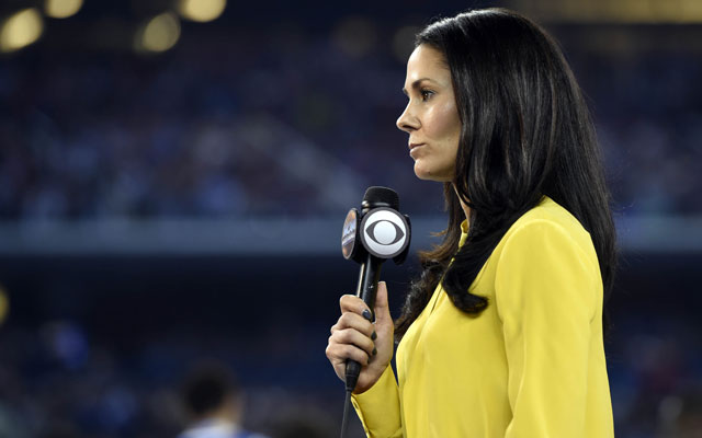 Tracy Wolfson joins the 'NFL on CBS' for 'Thursday Night Football.'