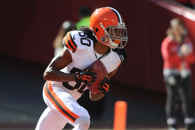 Travis Benjamin tore his ACL on Sunday and is done for the season. (USATSI)