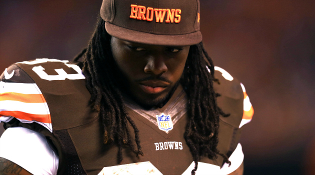 Trent Richardson was traded from the Browns to the Colts Wednesday.