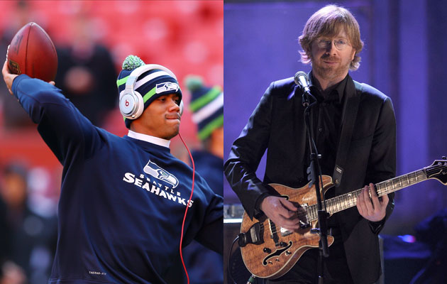 Trey Anastasio wants Seahawks fans to chant 'Wilson' for Russell Wilson when he takes the field. (USATSI)