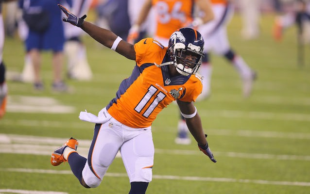Trindon Holliday is leaving Denver and taking off for New York. (USATSI)