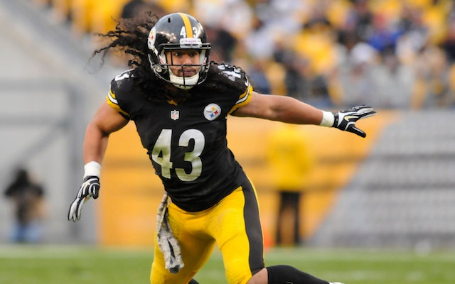 Troy Polamalu got a contract extension Wednesday. (USATSI)