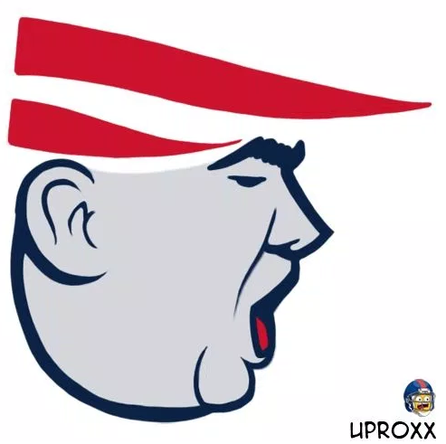 Look Heres Donald Trumps Face Meshed With All 32 Nfl Logos