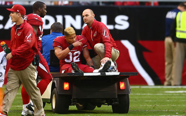 Tyrann Mathieu likely tore his ACL on Sunday.