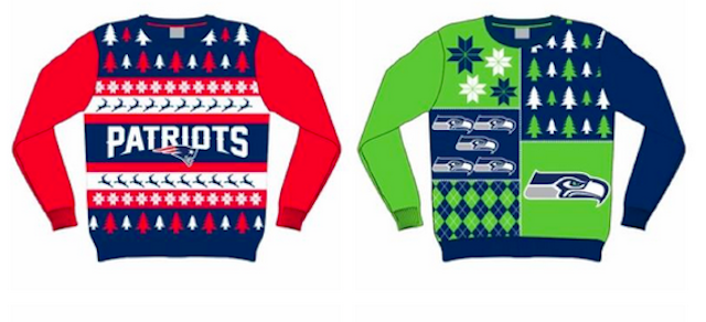 This is what an NFL ugly sweater looks like. (Forever Collectibles)