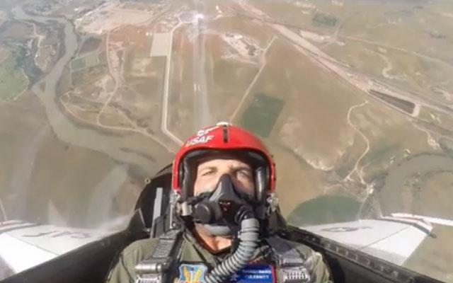 Wes Welker went flying Sunday.