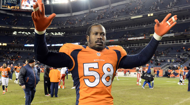 Broncos linebacker Von Miller was reportedly arrested on Sunday