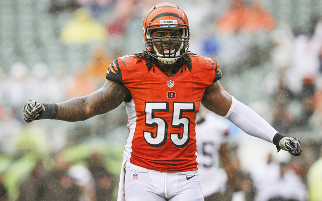 Bengals linebacker Vontaze Burfict made $315,847 in performance-based pay last season. (USATSI)