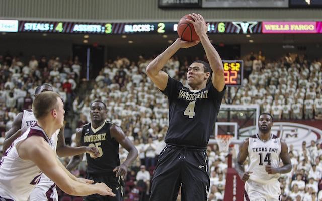 Wade Baldwin is set up to succeed at Vanderbilt. (USATSI)