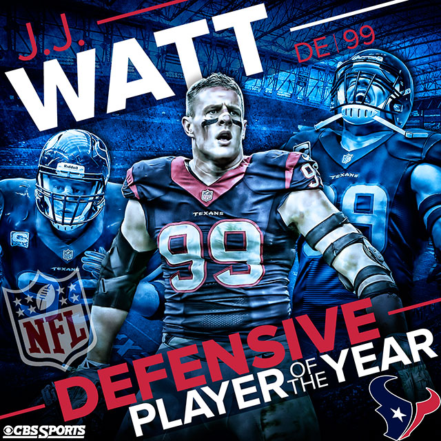 Watt is first ever unanimous nfl defensive player of the year