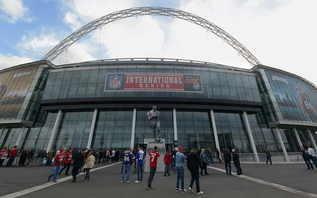 Wembley Stadium will host a game next season that will kickoff at 9:30 a.m. ET. (USATSI)