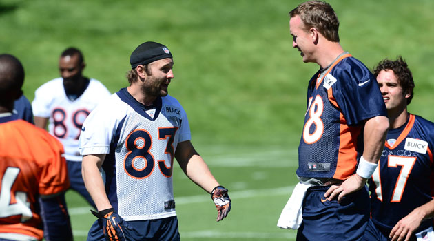 Wes Welker's feeling a lot more comfortable in Denver now. (USATSI)