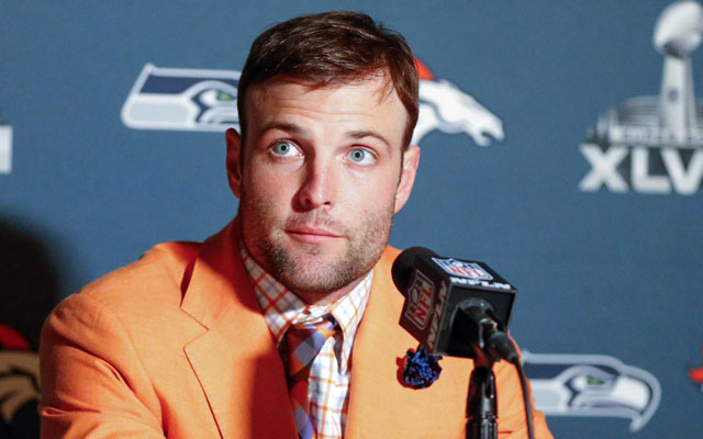 Wes Welker's horse Undrafted is named in honor of the owner's path to the NFL.