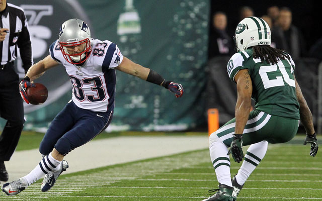 Wes Welker says the Pats never had Rex Ryan's playbook.