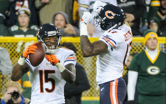 Alshon Jeffery and Brandon Marshall are a nice bargain for the Bears.