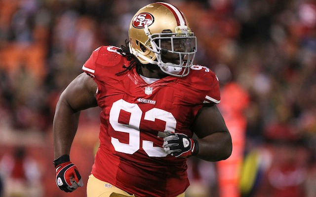 49ers defensive tackle Ian Williams has reportedly suffered a broken ankle. (USATSI)