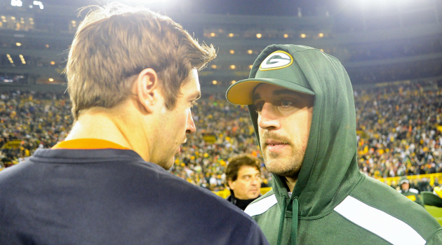 A man and woman wagered a Taser bet on the Packers and Bears Monday.
