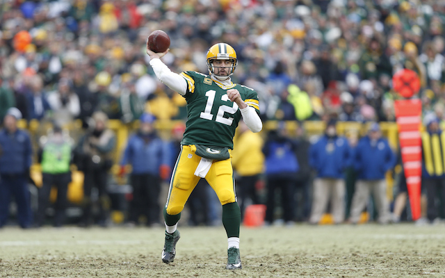 Aaron Rodgers Respects Richard Sherman But Doesnt Fear Him Getty Images