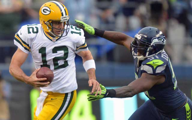 Aaron Rodgers had a heavy dose of Chris Clemens coming after him in 2012.