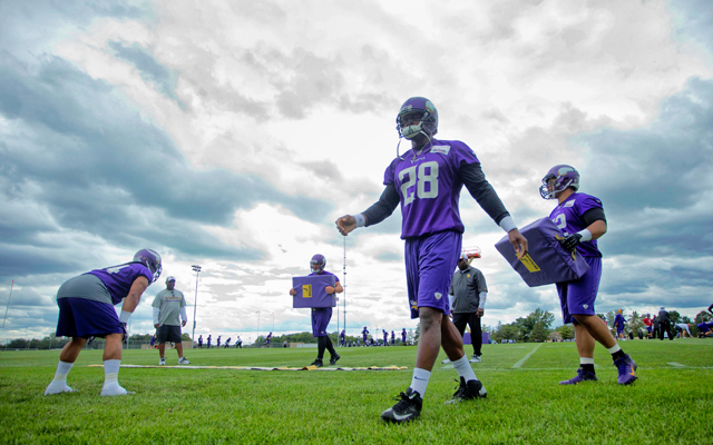 Adrian Peterson has been reinstated but where will he play in 2015? (Getty Images)