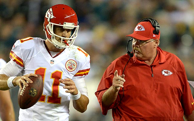 Alex Smith helped lead the Chiefs to 11 wins last season. (USATSI)