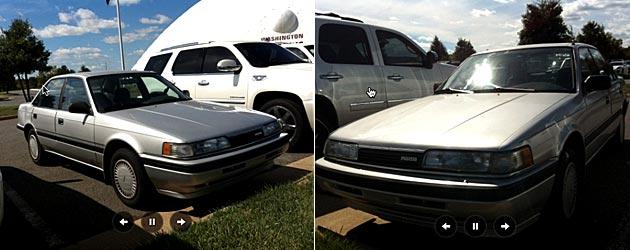Alfred Morris' Mazda, nicknamed Bentley, is getting redone. (Redskins.com)