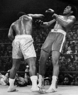 Joe Frazier beat Muhammad Ali the first time they fought