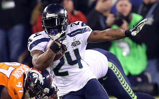 Beast Mode's best days might be behind him. (USATSI)