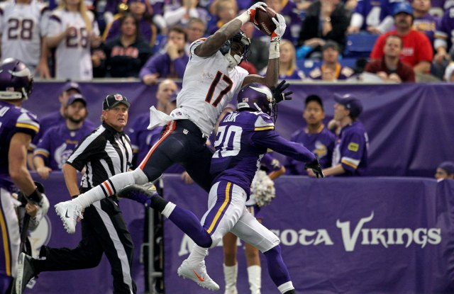 Alshon Jeffery had an amazing day catching the ball. (USATSI)