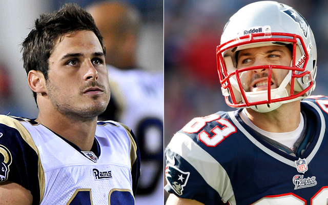 Is Amendola the new Welker? Does it matter?  (Getty Images)