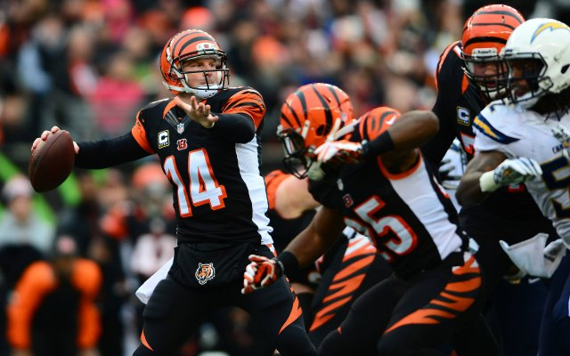 Should the Bengals be questioning Andy Dalton? (USATSI)