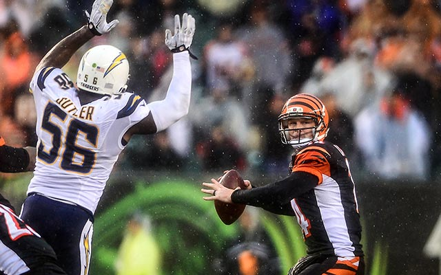 Andy Dalton has the full support of teammate A.J. Green. (USATSI)