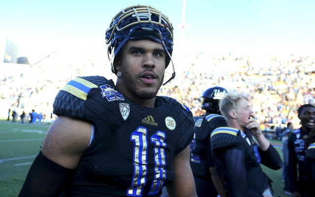 Two years ago, Anthony Barr was a running back. Now's he one of the best linebackers in the draft. (USATSI)
