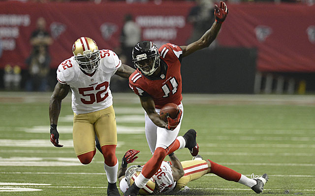 Take a bow, Julio Jones. You've made the 2013 All-Prisco Team. (USATSI)